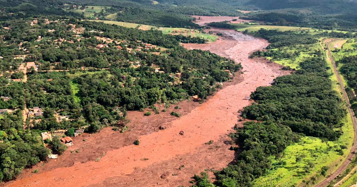Rompimento da Barragem de Brumadinho/MG - Foto: Polícia Militar/MG