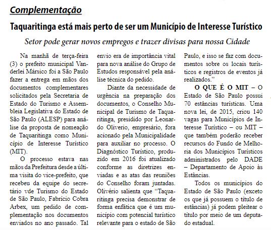 Reprodução Jornal O Defensor - 06/04/2018