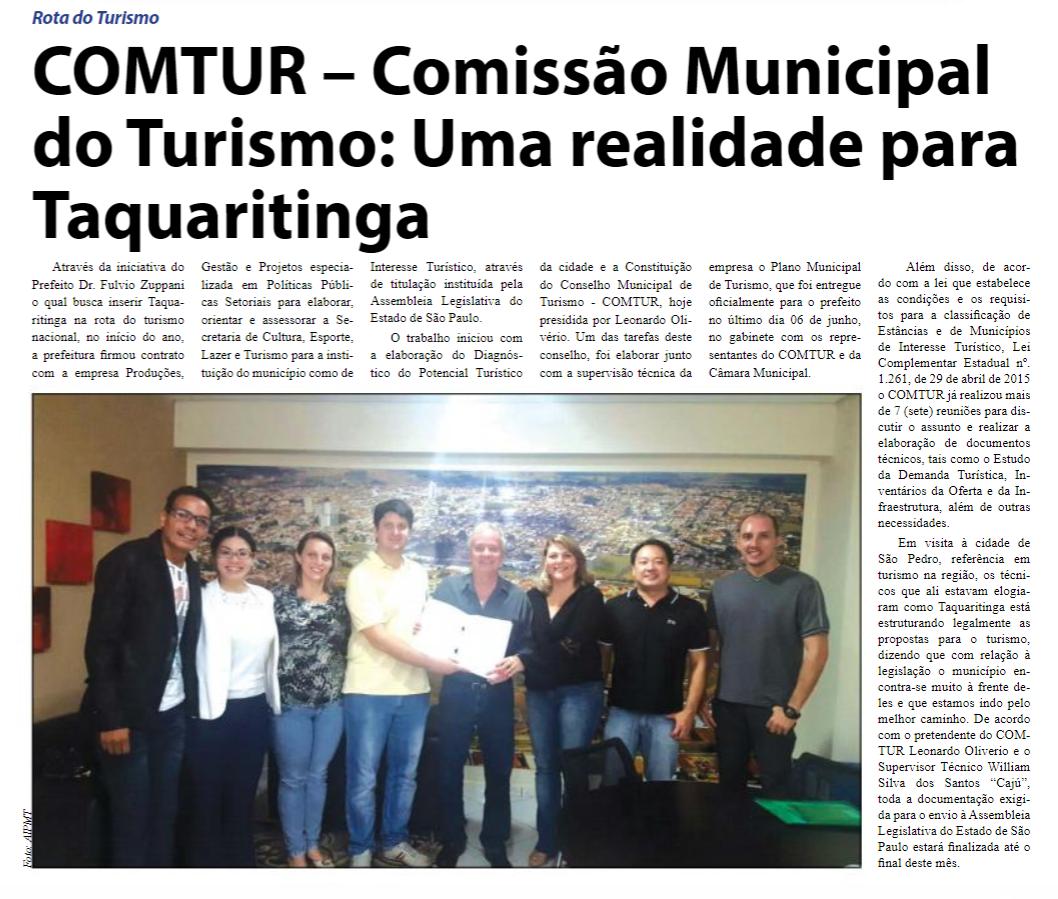 Reprodução Jornal O Defensor - 10/06/2016